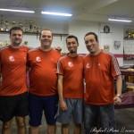 Equipe do Liberdade (da esquerda para direita: Marcelo Virgílio, Rafael Pena, Daniel Oliveira e Eduardo Guerra)