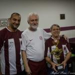 Equipe terceira colocada: Grêmio-B (da esquerda para direita: Alexandre, Benjamim, Sebastião)