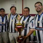 Equipe campeã: Tupi (da esquerda para direita: Carlos Henrique, Thiago Stephan, Brunno Gill, Marcus)