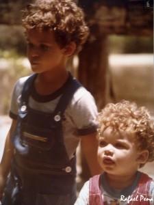 Eu e meu irmão, Henrique